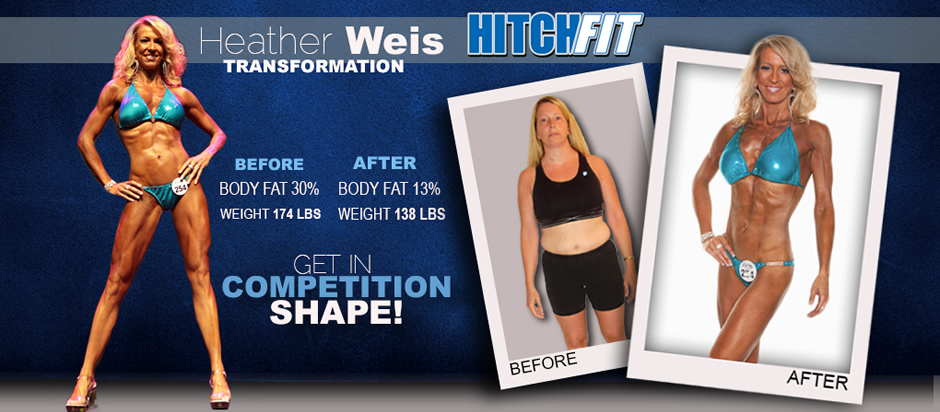 Heather Weis Transformation - Get in Competition Shape!