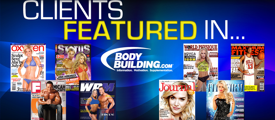 Covers of our Clients Featured in Periodicals