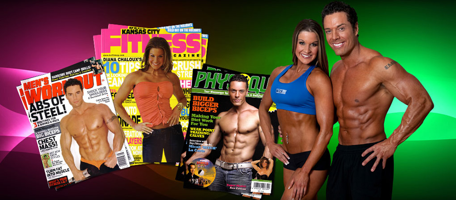Micah Lacerte and Diana Chaloux have been featured in many magazines