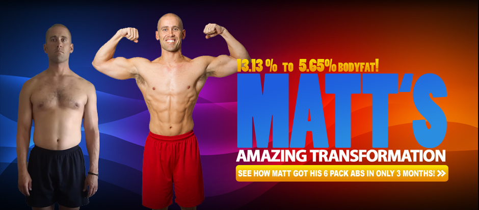 Matt, a College Teacher, drops to 5.65% bodyfat
