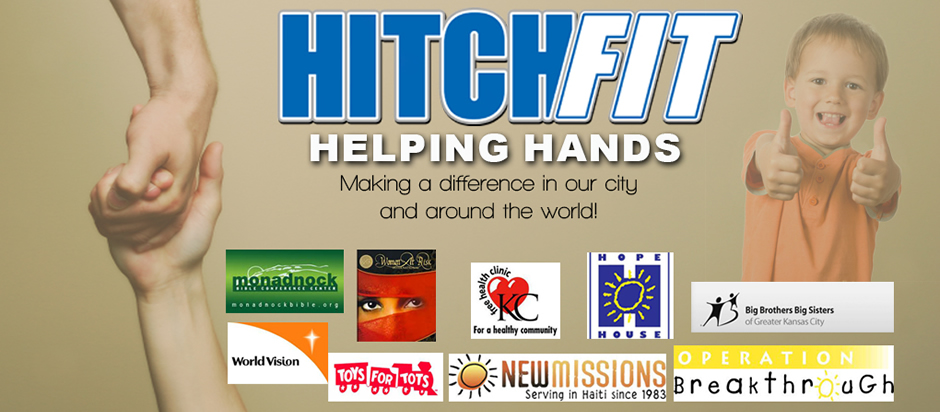 HitchFit Helping Hands - Making a difference in our city and our world!