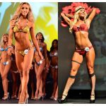 Day of Show Hair and Makeup - WBFF 2015