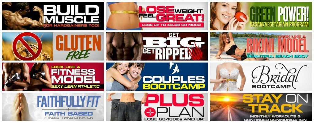 Online Personal Training Plans