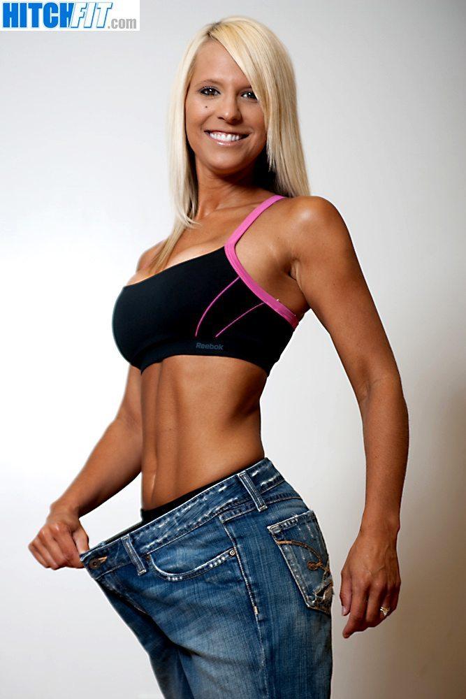 Hot Bikini Mom Brandi - She lost the weight to get a bikini model body!