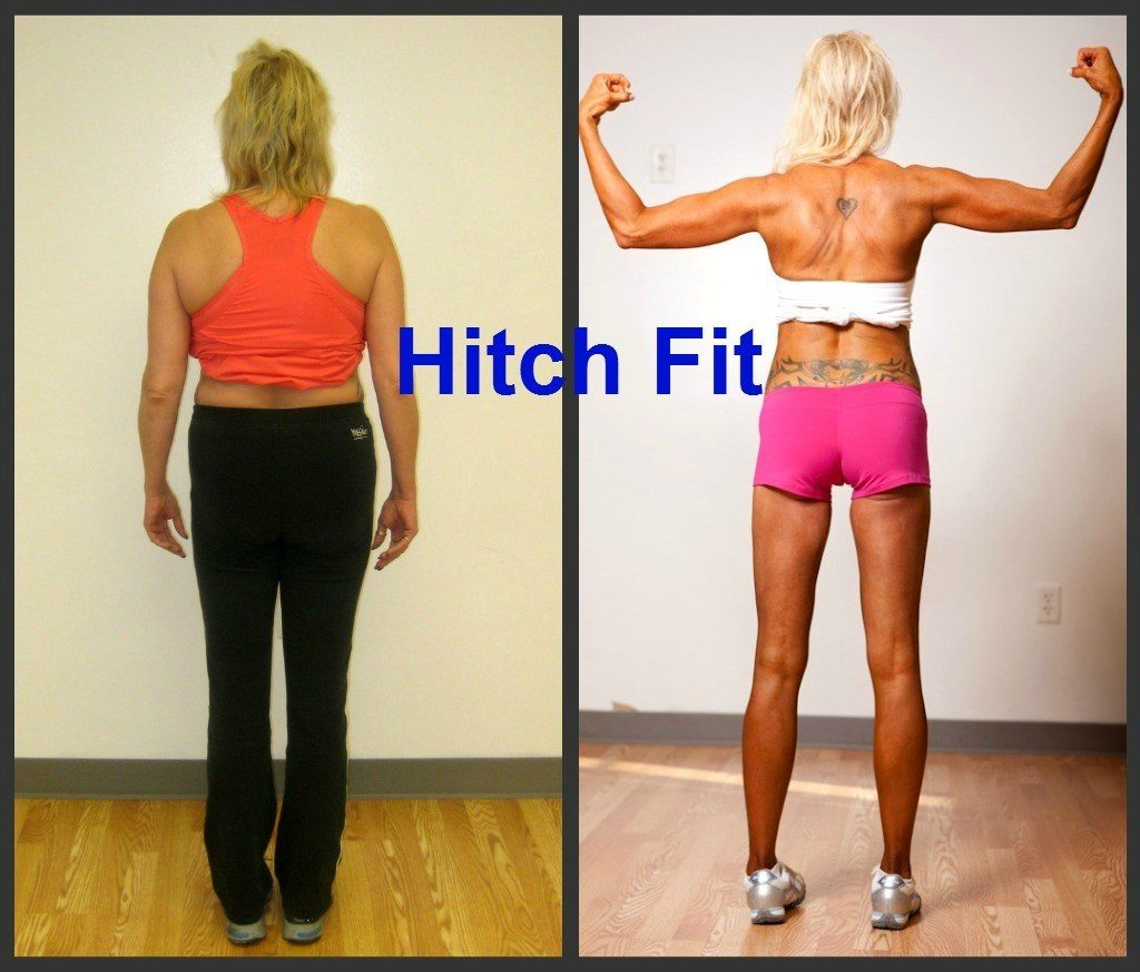 Melinda Coleman Before and After Back
