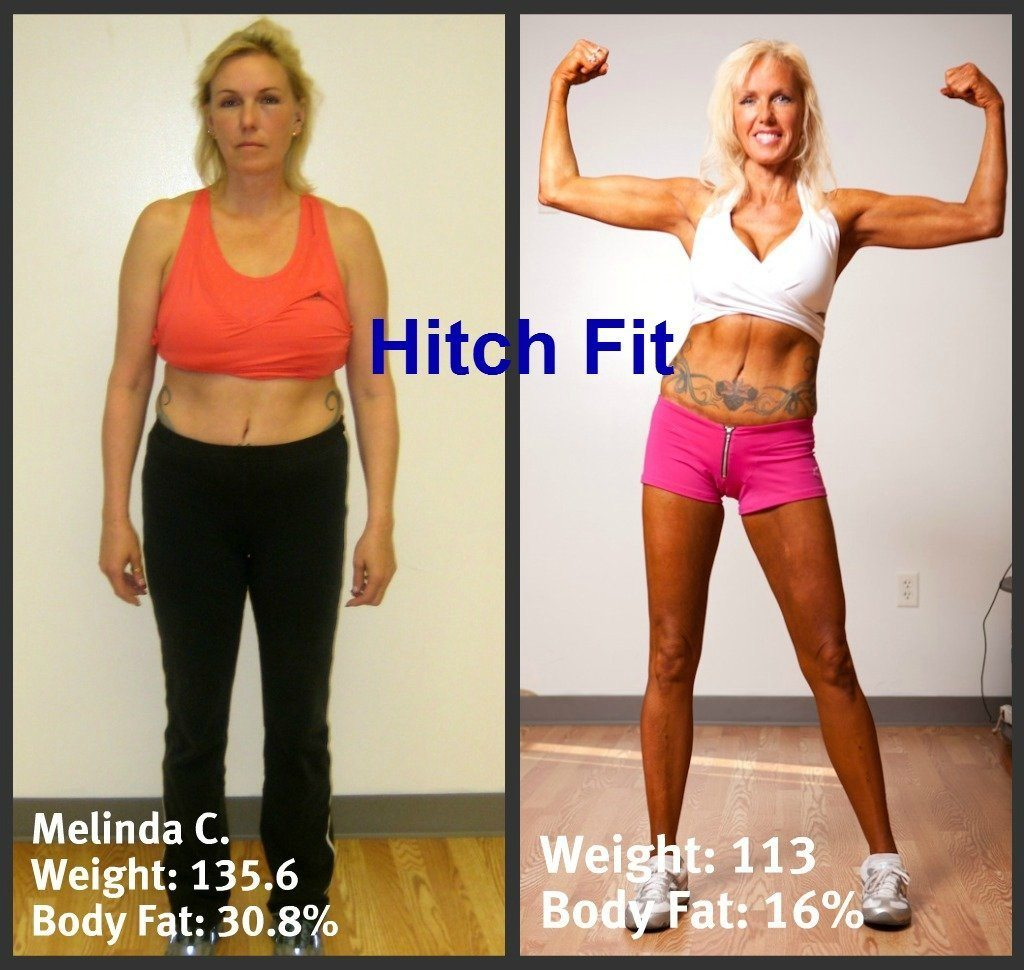 Melinda Coleman Before and After Front