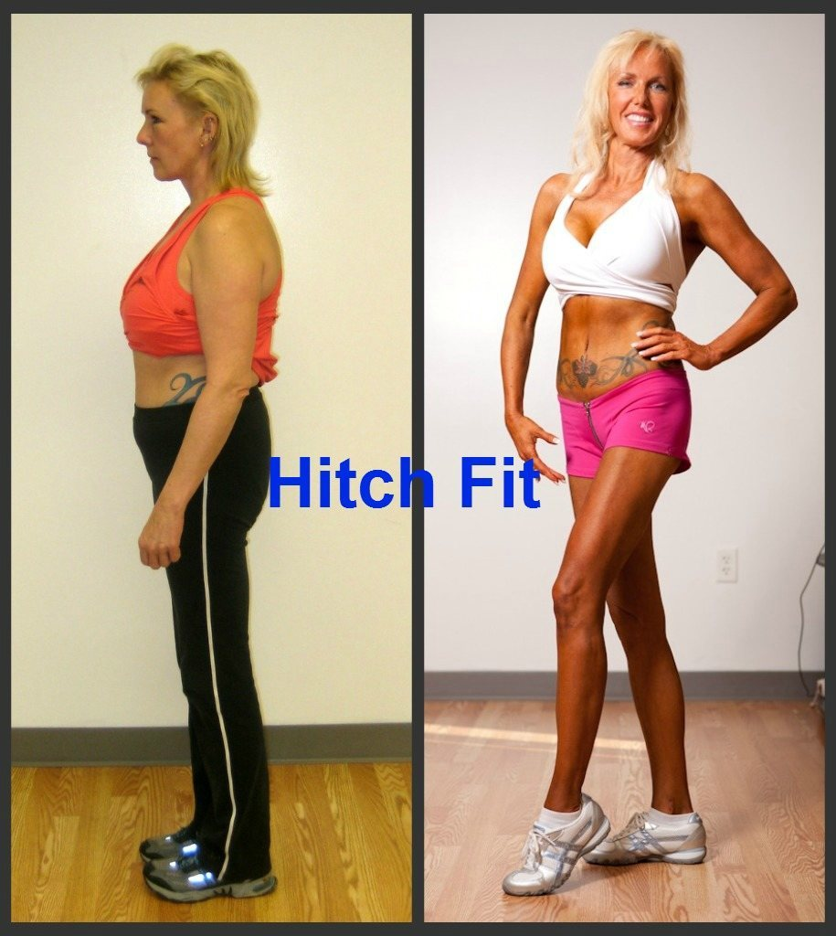 Melinda Coleman Before and After Side