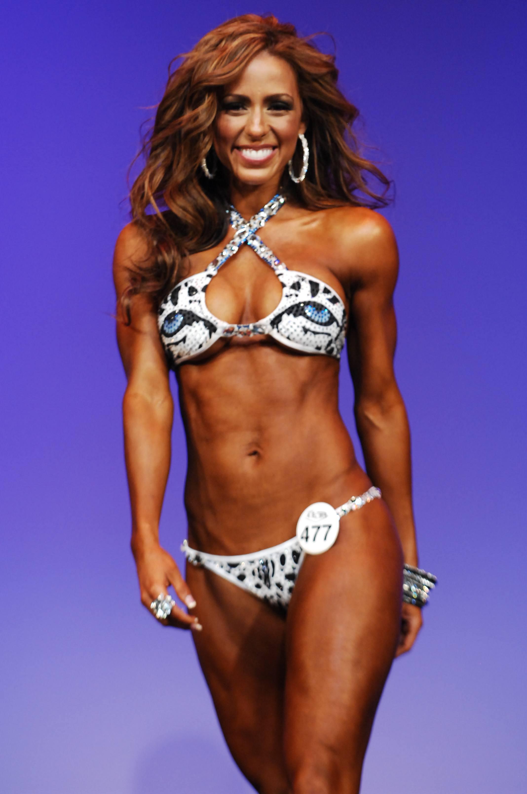 WBFF Diva Bikini Model Pro World Champion Chady Dunmore