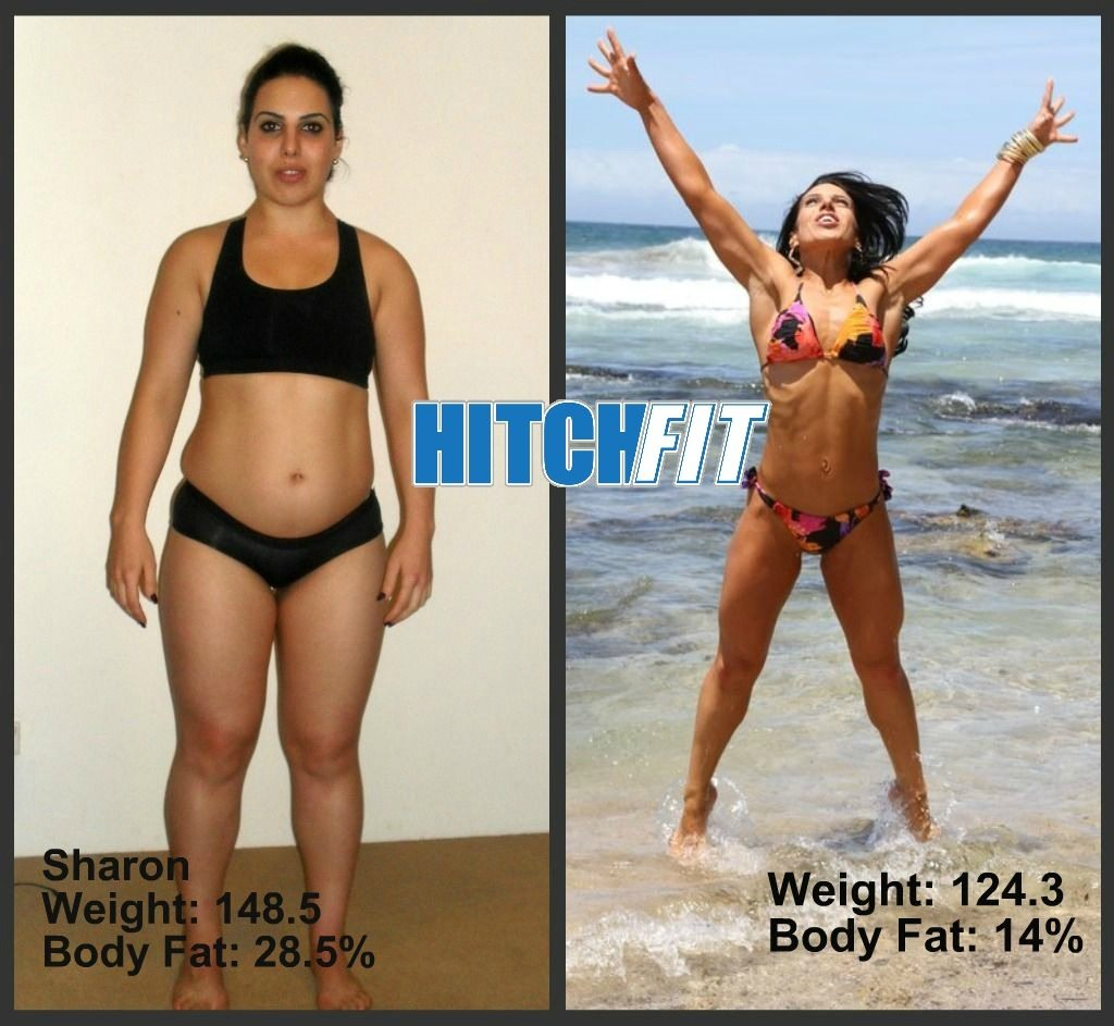 Before and After Weight Loss Photos - Fitness Model Plan - Sharon