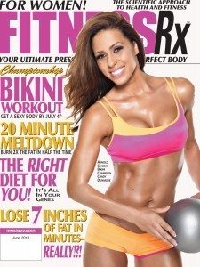 Fitness RX Cover Model Chady Dunmore