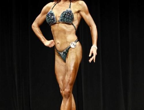 WBFF Figure Competitor Carol Lapsley