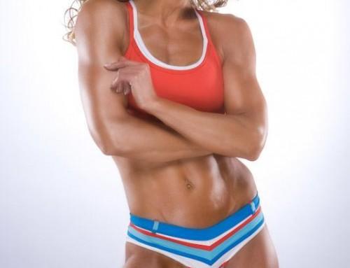 WBFF Pro Diva Fitness Model Shannon Leroux