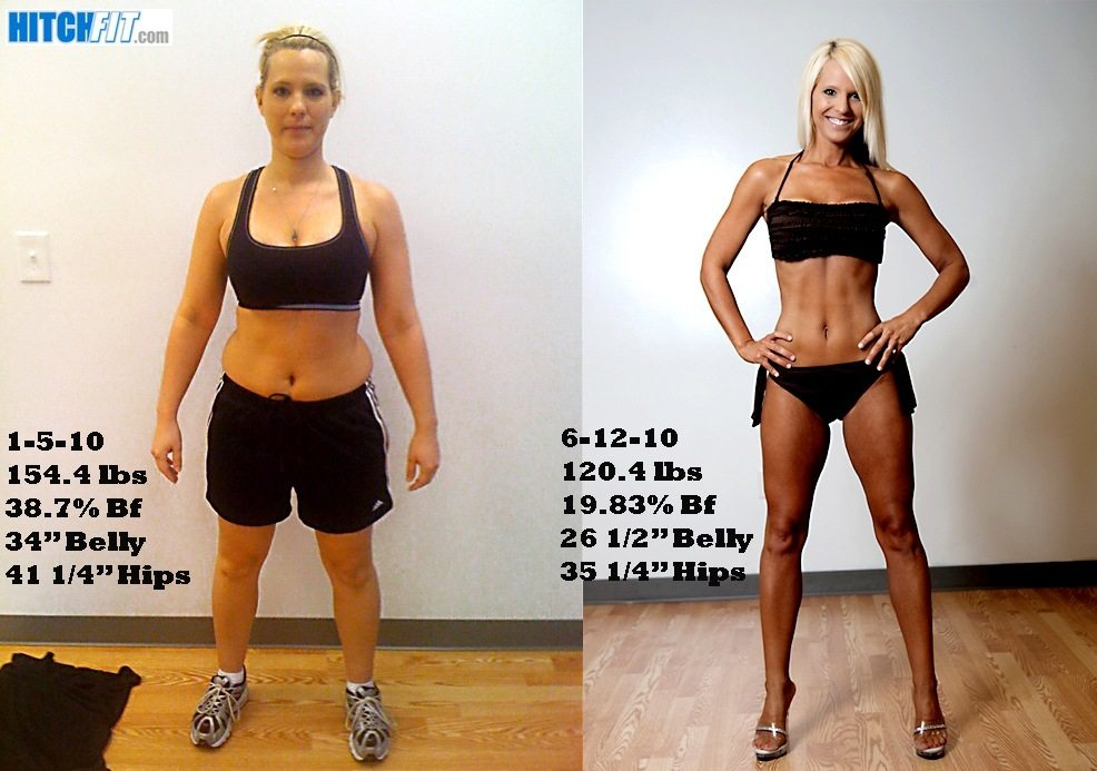 female, Look Like a Bikini Model, over 30 pounds lost, less than 20% body fat lost