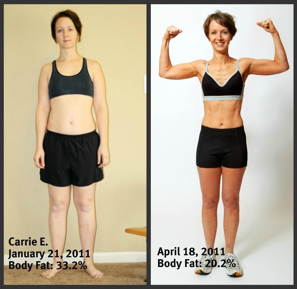 Carrie E. Before and After Front