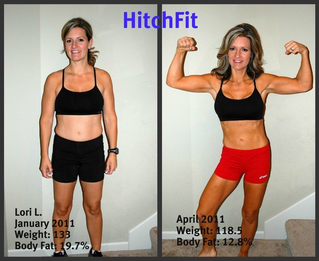 Lori L Before and After Front