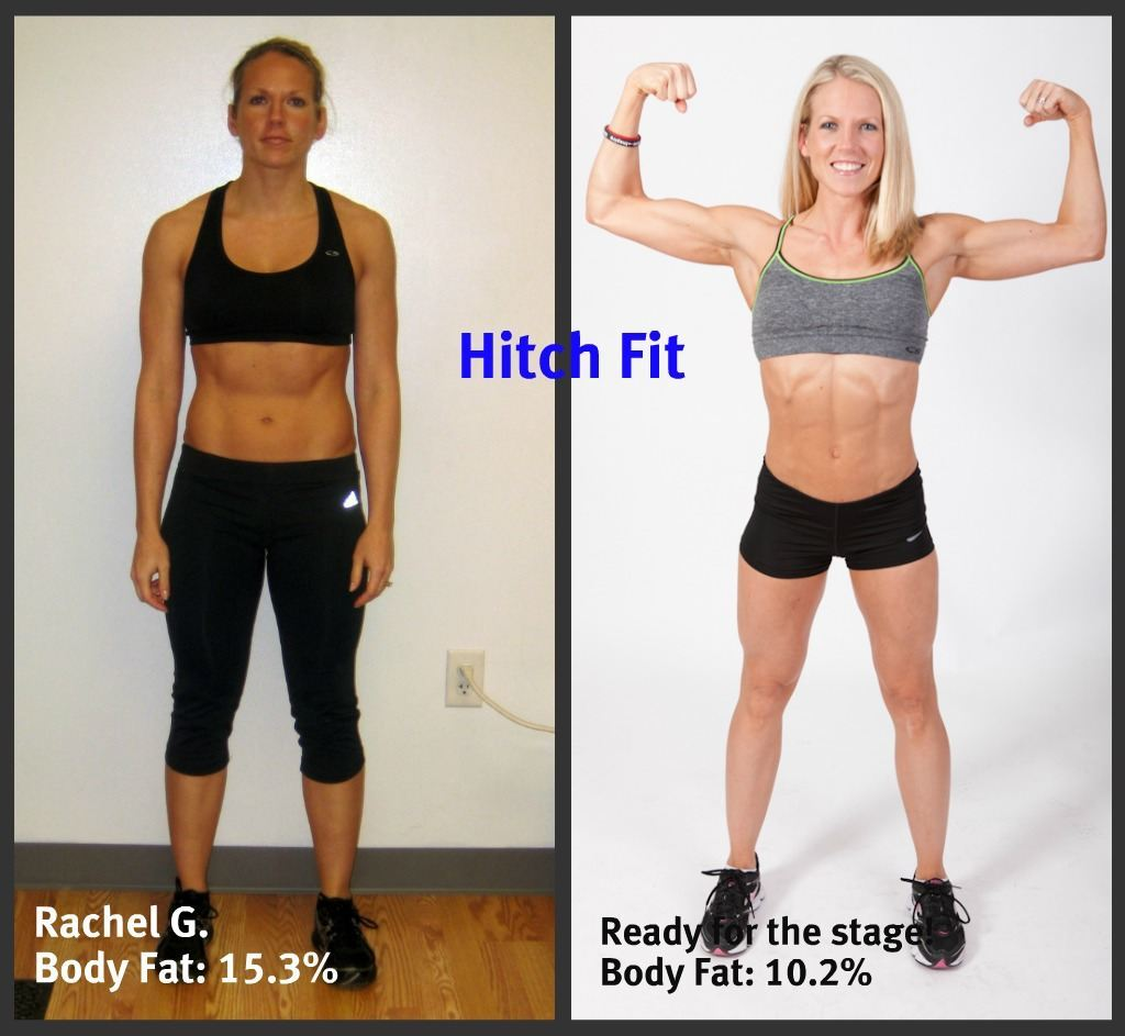 Rachel Before and After Front