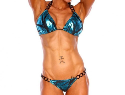 WBFF Pro Diva Fitness Model Chelcea Davis Gonzales