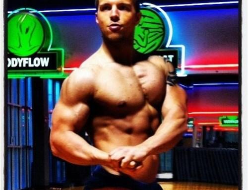 WBFF Muscle Model Dylan Harris