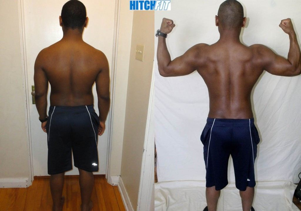 male, Look Like a Fitness Model, under 20 pounds lost, 3 pounds muscle gained, less than 20% body fat lost