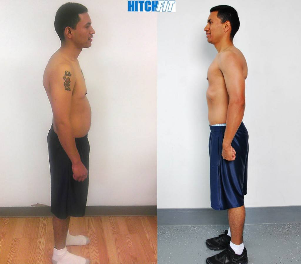 male, Couples Bootcamp, under 20 pounds lost, less than 20% body fat lost