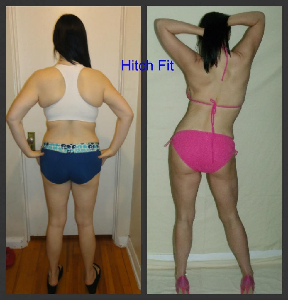 female, Look Like a Fitness Model, under 20 pounds lost, less than 20% body fat lost