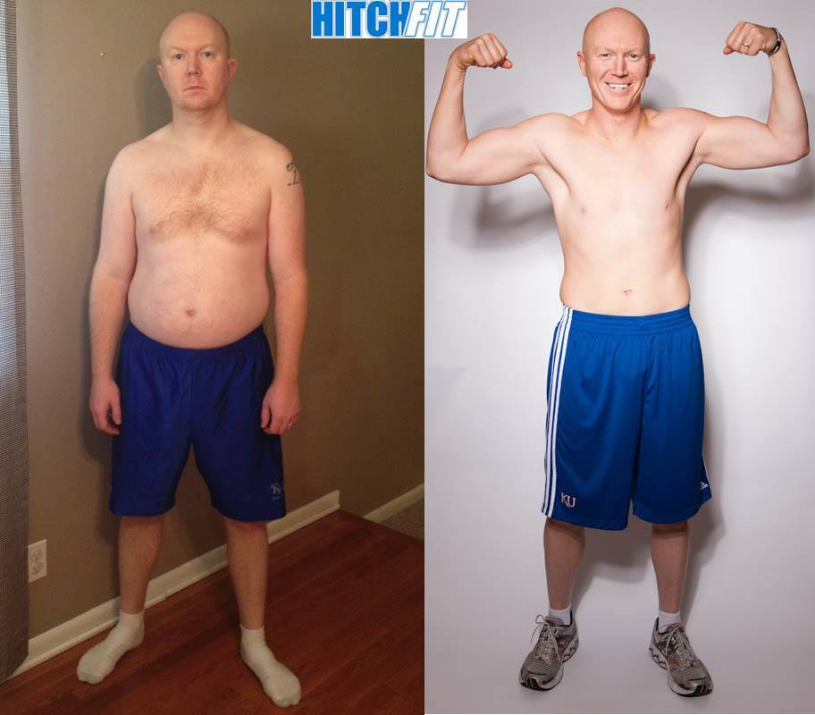 male, Couples Bootcamp, over 30 pounds lost, less than 20% body fat lost