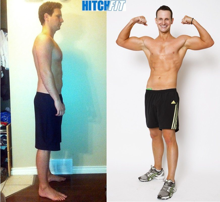 male, Look Like a Fitness Model, Competition Prep, over 20 pounds lost, less than 20% body fat lost