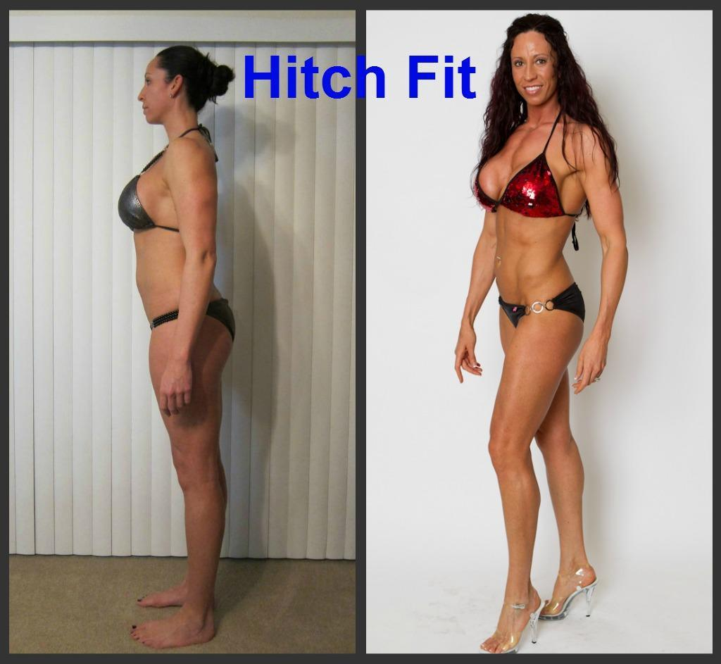 female, Online Competition Prep, under 20 pounds lost, less than 20% body fat lost