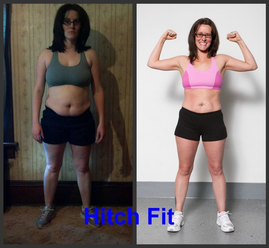 Stacey A. Before and After Front