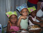 Kiddos in Haiti