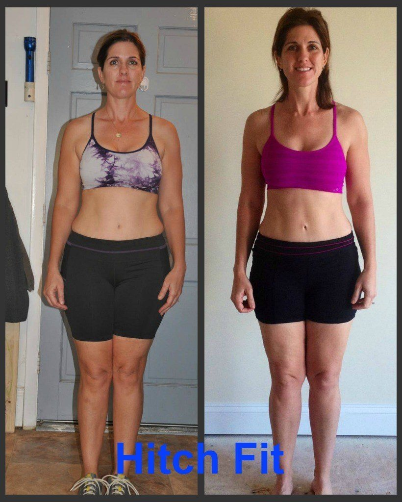 Mother of 4 changes mindset and breaks through plateaus with hitch fit