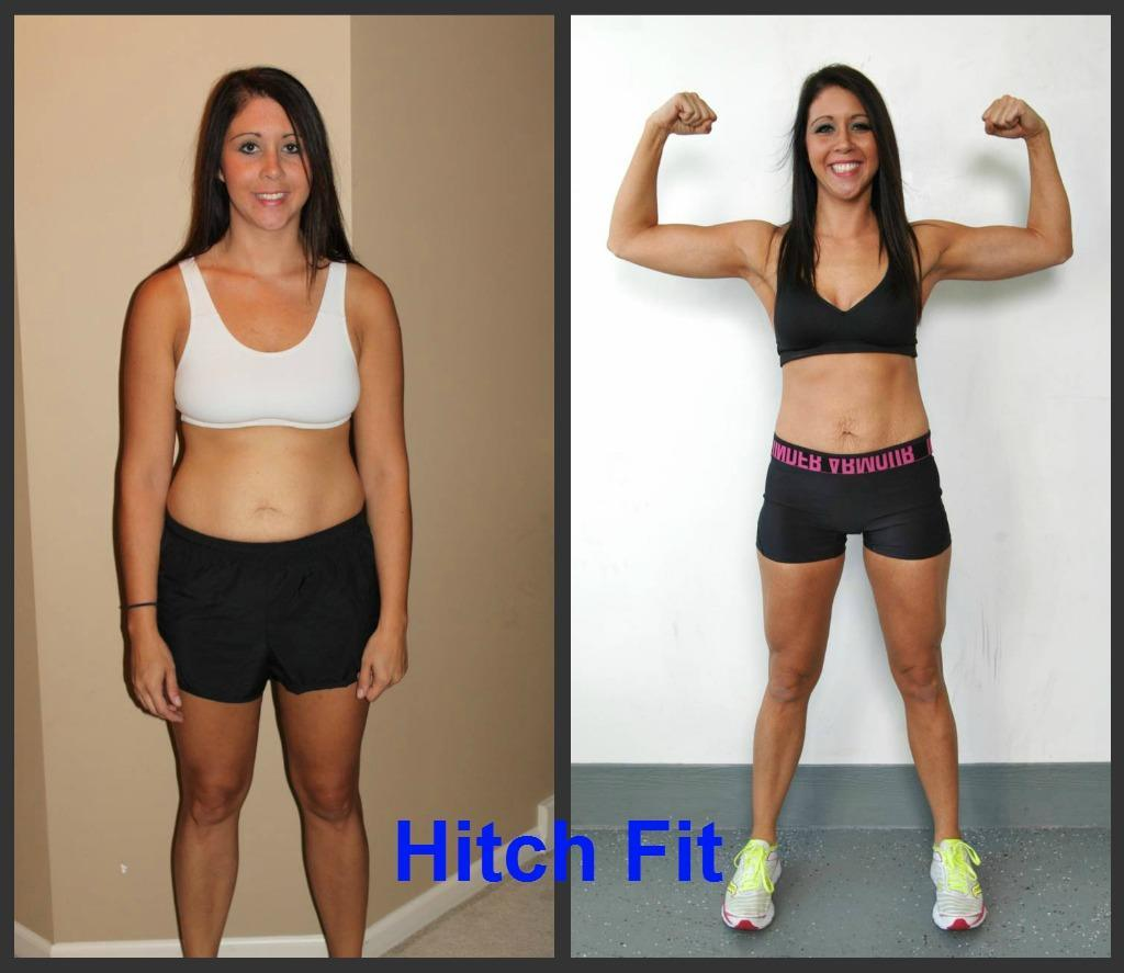 Stephanie H. Before and After Front