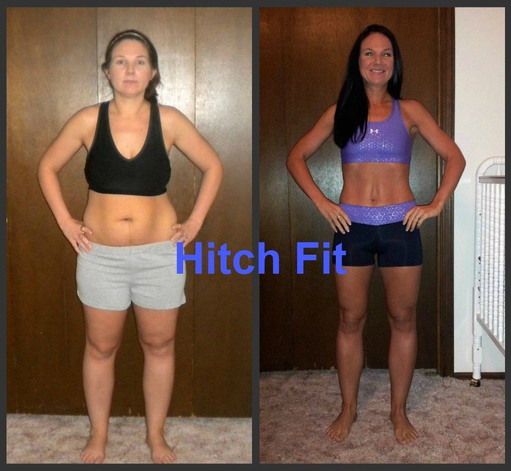 Kristin T. Before and After Front