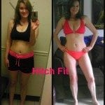 Nicole M. Before and After Front