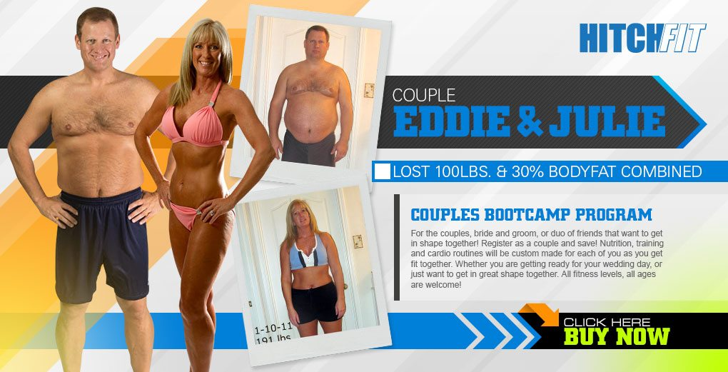 Hitch Fit - Eddie & Julie lost 100 pounds