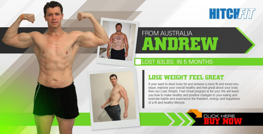 Hitch Fit - Andrew lost 63 pounds