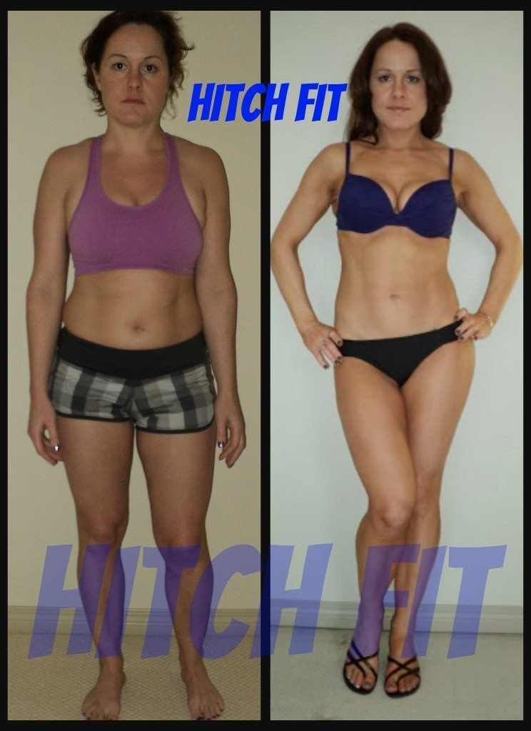 Angela C. Before and After Front