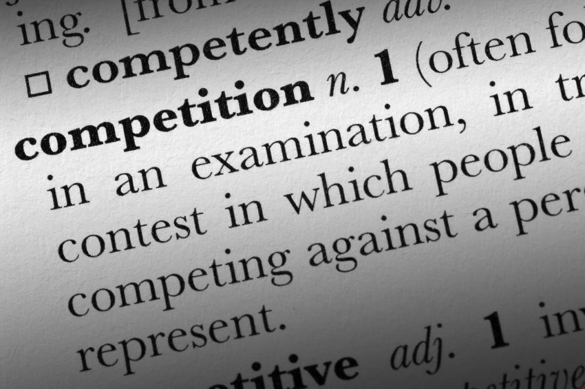 Competition word dictionary term