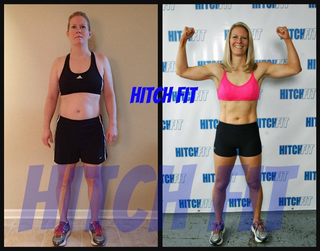 Tricia P. Before and After Front