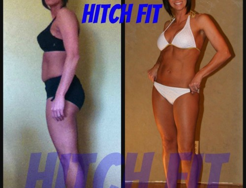 Roller Derby athlete gets in Fitness Model Shape with Hitch Fit Online Personal Training!
