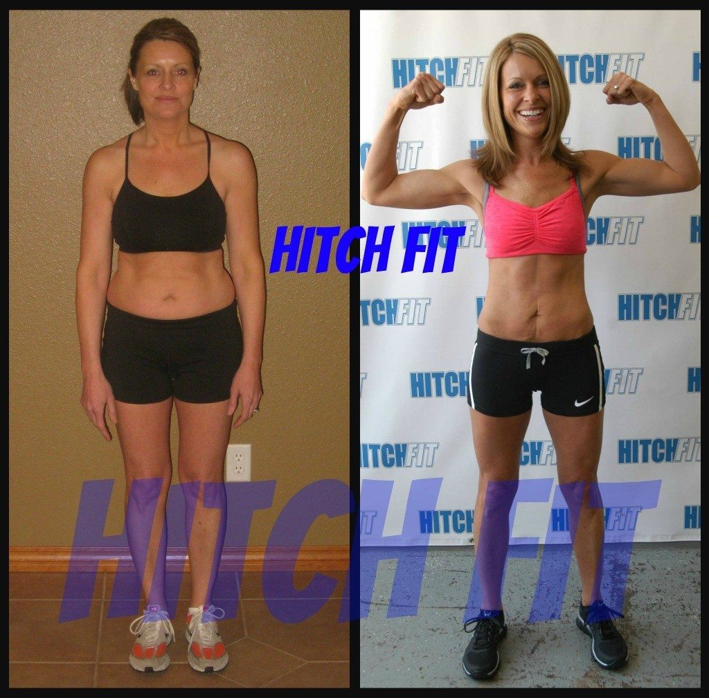 Angela Odell before and after front