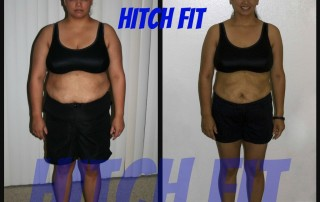 Candice L. Before and After Front