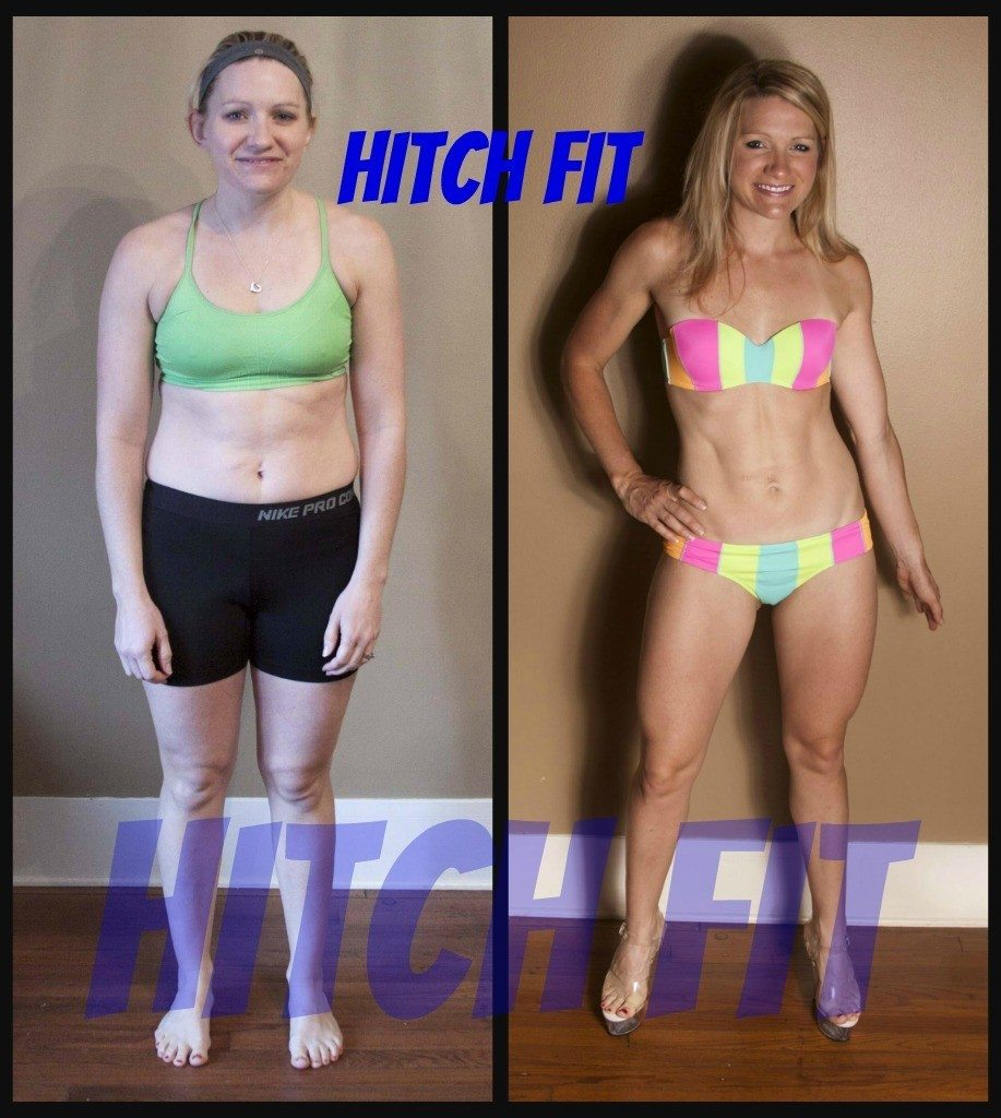 Sara Boyle before and after front