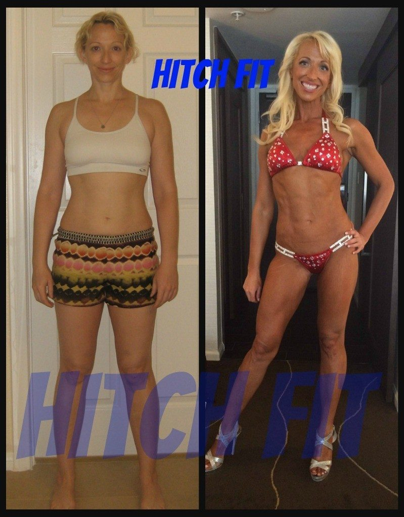 Kristen J. before and after front