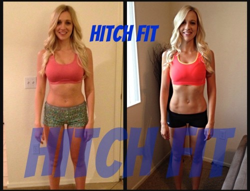 12 Week Fitness Model Program Client Gets Results with Hitch Fit!