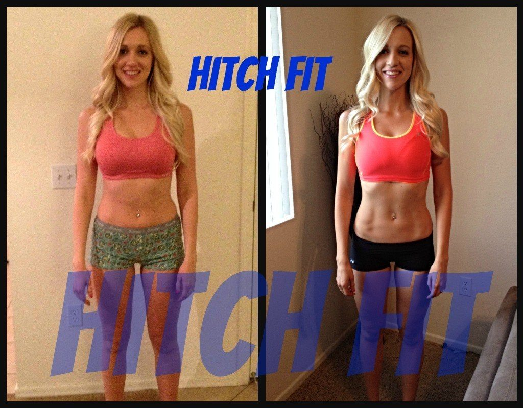Kristin F. before and after front