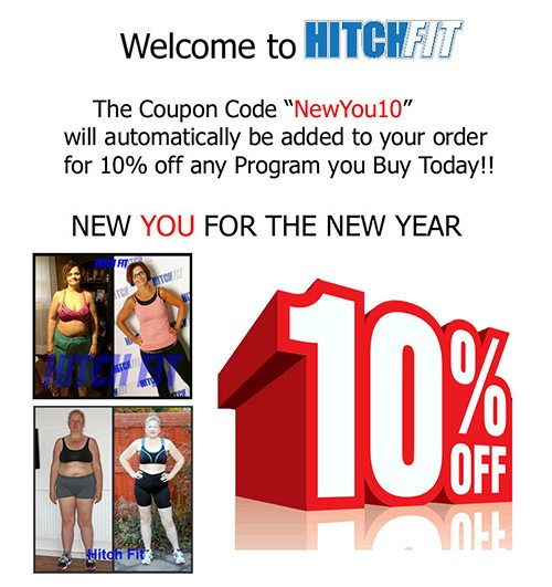 Hitch Fit 10% Off All Programs - Jan 2015