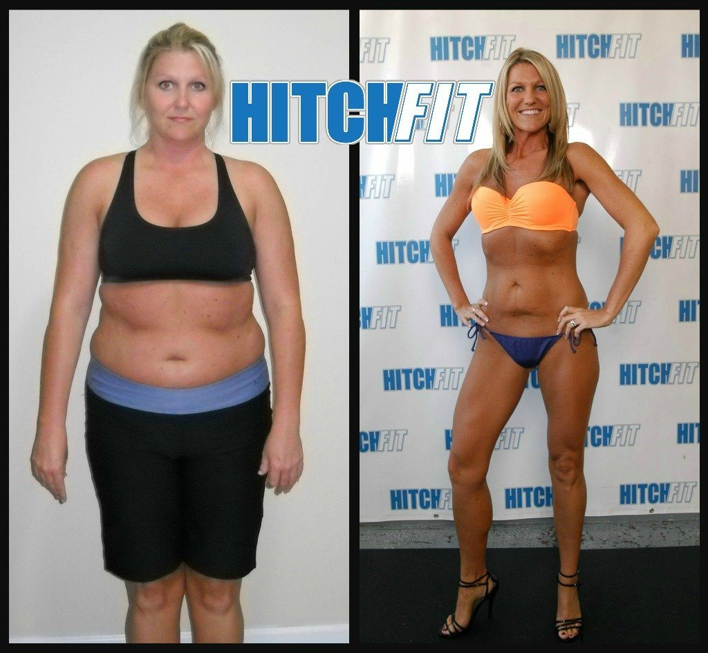 Beckie Mason before and after front pix