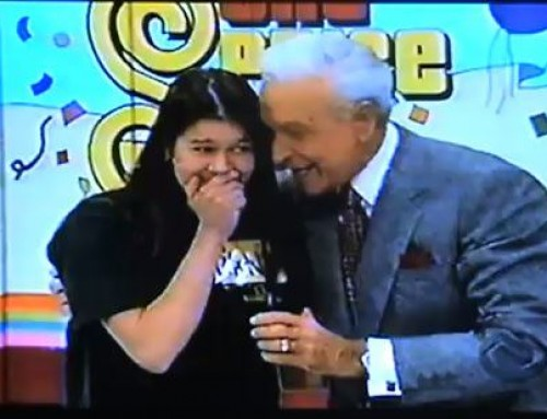 """The Price is Right – """"Aha"""" Moment that changed a life"""