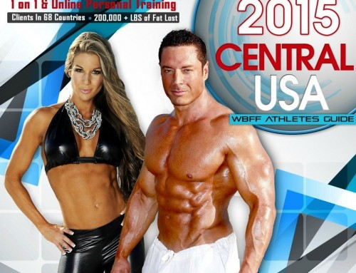 WBFF Central USA Fitness Show Athletes Guide 2015